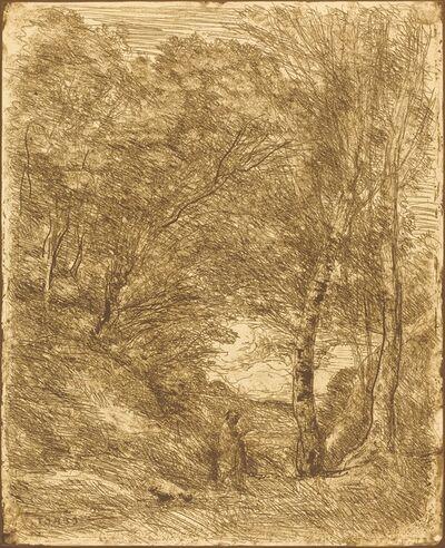 Jean-Baptiste-Camille Corot, 'The Gardens of Horace (Les Jardins d'Horace)', 1855