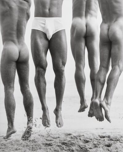 Herb Ritts, 'Jump, Paradise Cove', 1987