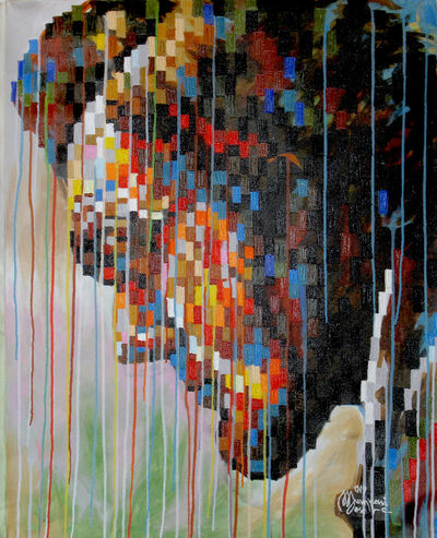 Mumpasi Meso, 'Abrahame Lincoln', 2019