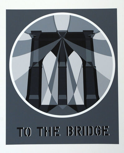 Robert Indiana, 'To the Bridge', 1997