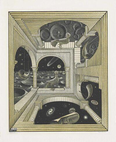 Maurits Cornelis Escher, 'Other World', 1947
