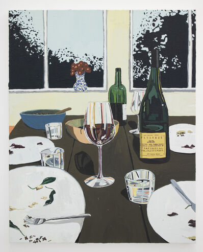 Hilary Pecis, 'Dinner Table and Window', 2018
