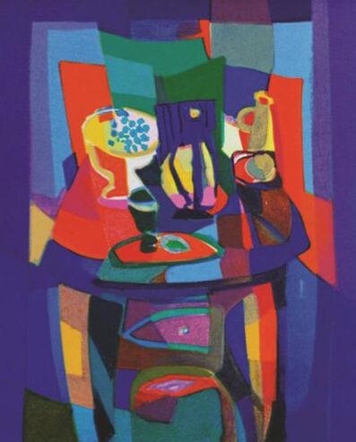 Marcel Mouly, 'Salon Cubiste ', 1988