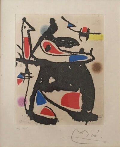 Joan Miró, 'Le Marteau sans maitre'