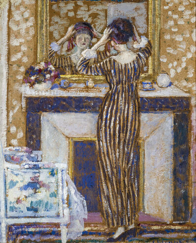 Frederick Carl Frieseke, 'Before the Mirror', about 1918