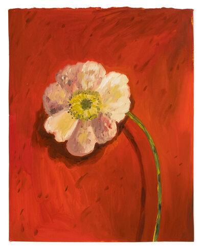 Sarah Osborne, 'White Poppy', 2019