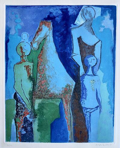Marino Marini, 'Shakespeare IV', 1977