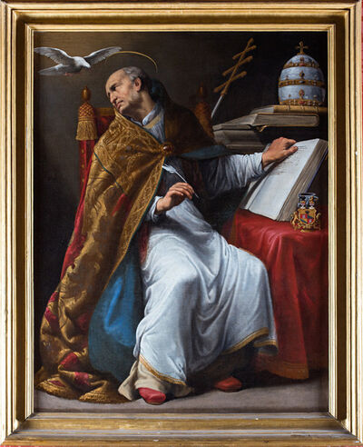 Carlo Saraceni, 'Saint Gregory the Great', 1619-1620
