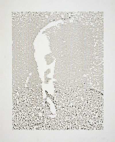 Ellsworth Kelly, 'EK', 1990