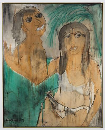 Grace Hartigan, 'Miami Senoritas', 1987