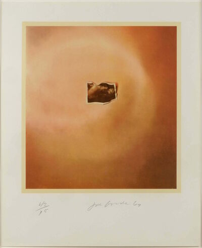 Joe Goode, 'Photo Cloud (Orange)', 1969