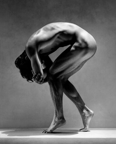 Greg Gorman, 'Tony Bent Over', 1988