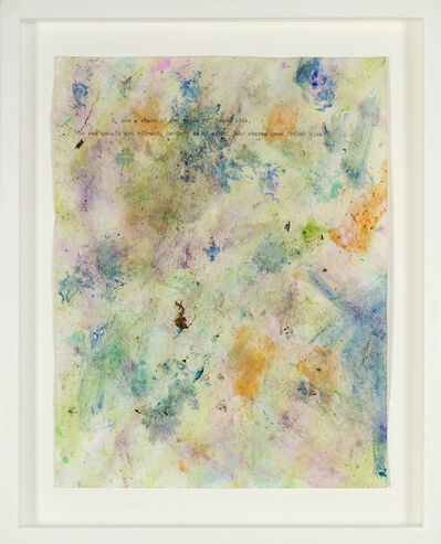 Dan Colen, 'Untitled (from Train Yourself to Lose)', 2012