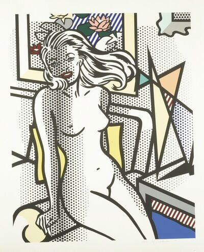 Roy Lichtenstein, 'Nude with Yellow Pillow (Corlett 283)', 1994