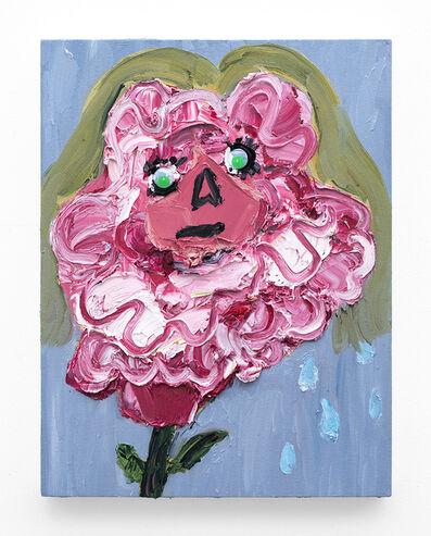 Georgina Gratrix, 'Self Portrait as a Fickle Flower', 2018