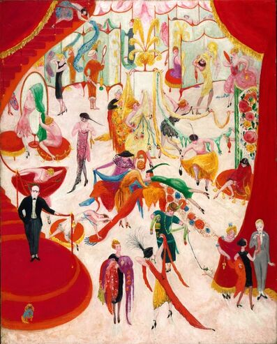 Florine Stettheimer, 'Spring Sale at Bendel's ', 1921