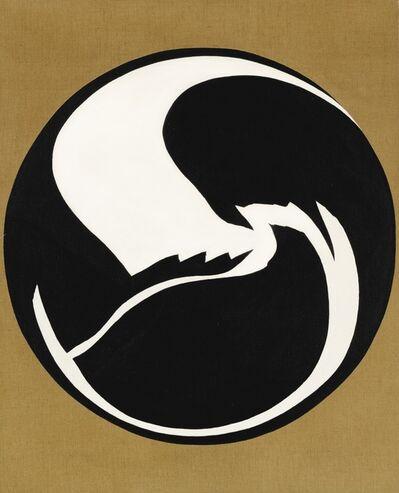 Jack Youngerman, 'Black-White Tondo', 1965