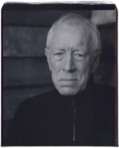 Julian Schnabel, 'Untitled (Max von Sydow)', 2007