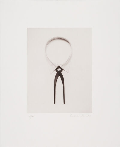Chema Madoz, 'Shirtt and plier (Camisa y tenaza) and two more', 2003