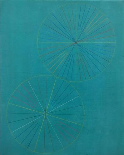 Marta Marcé, 'Tabula Rasa (Crayon/Turquoise)', 2019