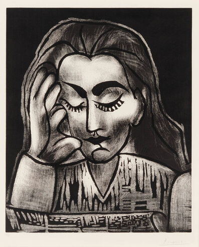 Pablo Picasso, 'Jacqueline Reading', 1964