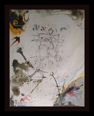 Salvador Dalí, 'Moses & Monotheism Moses & Akhenaton', 1975