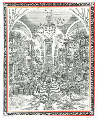 Adam Dant, 'Wolseley (Aviary)', 2019