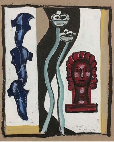 Fernand Léger, 'Composition à la tête rouge', 1927