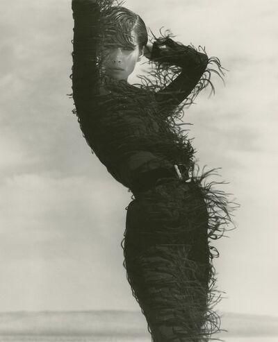 Herb Ritts, 'Christy Turlington - Versace, El Mirage', 1990