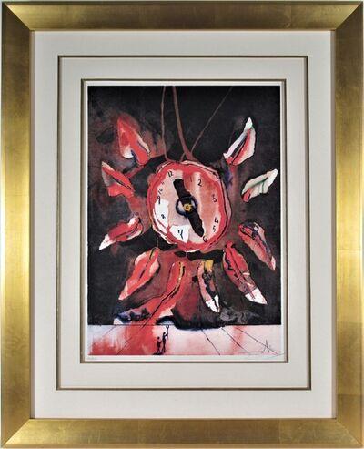 """Salvador Dalí, '""""Montre Fleur"""" ', 1973"""