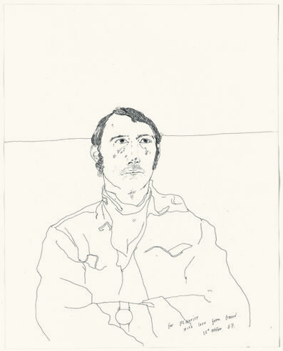 David Hockney, 'Maurice Payne', 1967