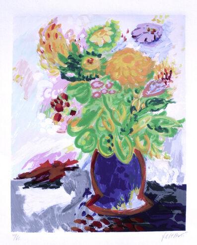 Yehouda Chaki, 'Bouquet with Yellow Flower', n/a