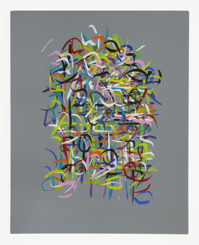 Carol Salmanson, 'Radiations Series 3, Painting 5', 2019