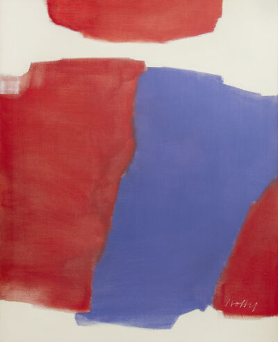 Carl Holty, 'Moving Red', 1963