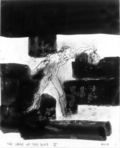 Leon Golub, 'The Head of the King II', 2001
