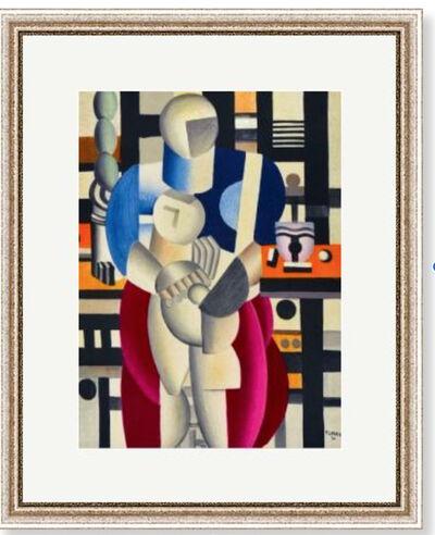 Fernand Léger, 'Femme et enfant', 1955