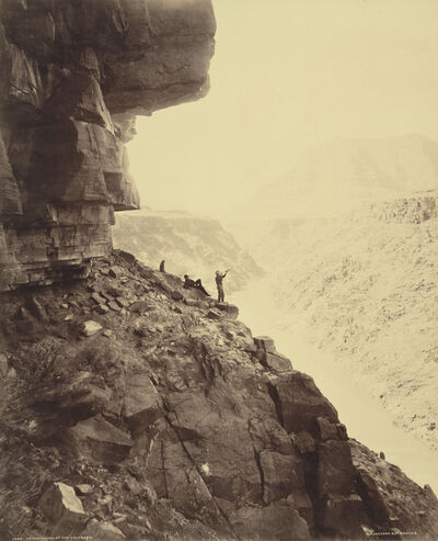 William Henry Jackson, 'Grand Canyon of the Colorado River', 1883