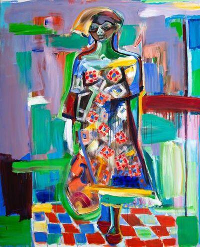 Ngimbi (Luve) Bakambana, 'African Woman', 2019