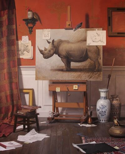 Tony Curanaj, 'Untitled (Rhino)', 2011