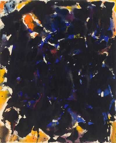 Sam Francis, 'Untitled (Blue-Black)', 1955