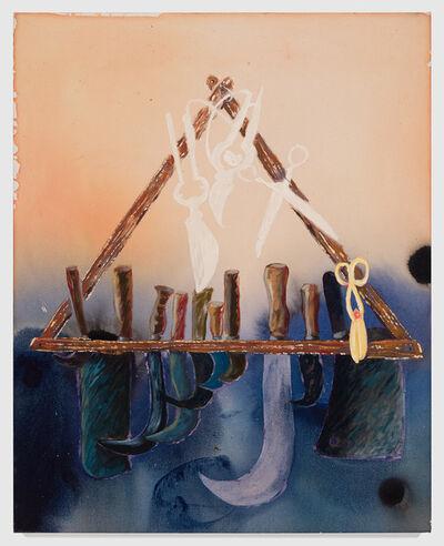 Angelina Gualdoni, 'Lunar Blades', 2021