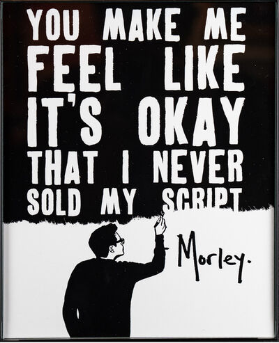 Morley, 'It's Okay (Sold Script)', 2018
