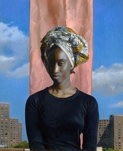 Jas Knight, 'Amy, View of Harlem', 2015