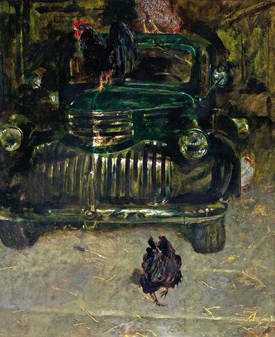 Jamie Wyeth, 'Chicken Truck'