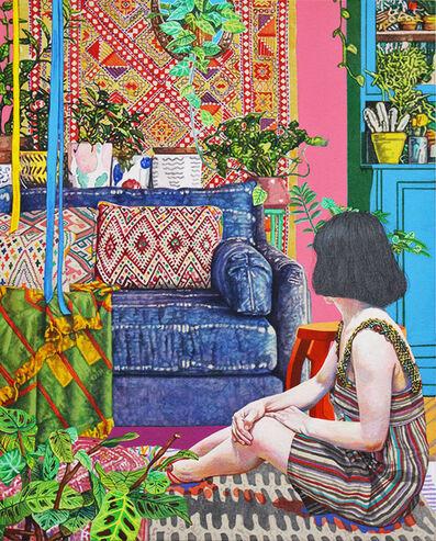 Naomi Okubo, 'Ethnic Decor Living Room', 2018