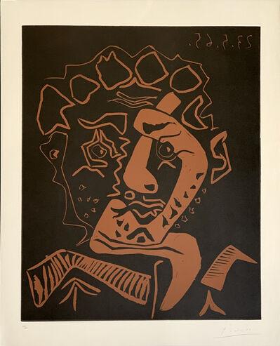 Pablo Picasso, ' Le Danseur, Tête d'Histrion ', 1965