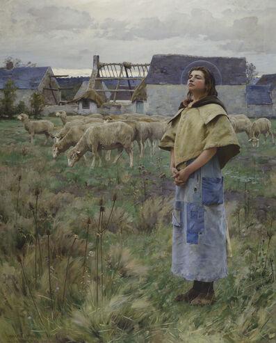 Charles Sprague Pearce, 'Sainte Genevieve', 1887