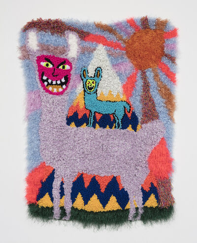 Hannah Epstein, '¡Las Llamas Locas!', 2019