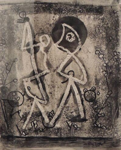 Willy Boers, 'Geheimzinnig treffen (Mysterious encounter)', 1948