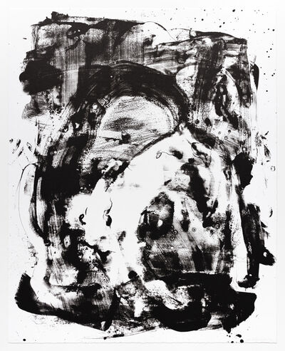 Mary Weatherford, 'Elephant', 2018